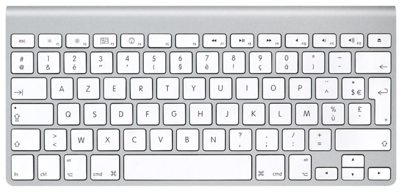Apple Wireless keyboard fr